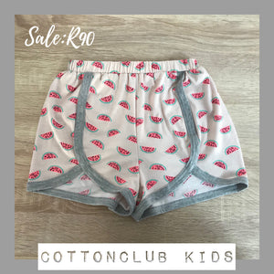 SALE ITEM - WATERMELON SHORTS - AGE 7-8