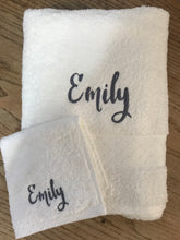 Load image into Gallery viewer, PERSONALISED BATH TOWEL