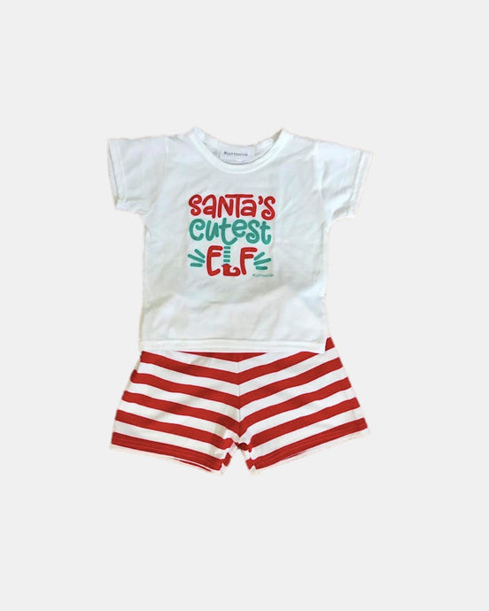 BOYS ELF CHRISTMAS PYJAMAS