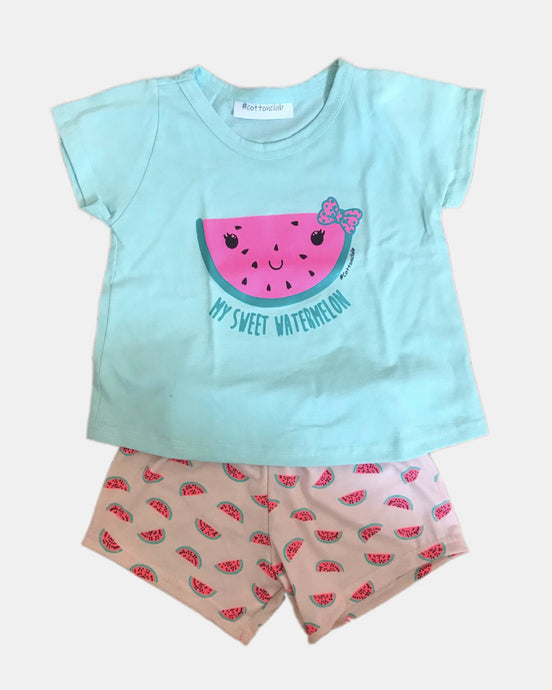 Watermelon Summer Pjs 2-6 years
