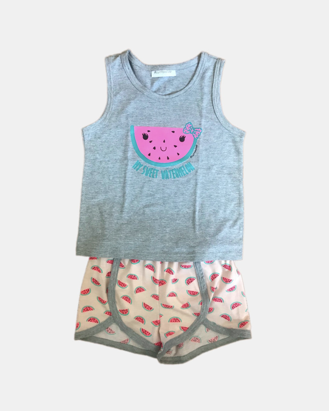 OLDER GIRLS SUMMER WATERMELON PYJAMAS