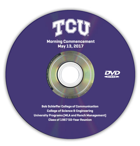 2017 Spring Graduation DVD -- Morning Ceremony