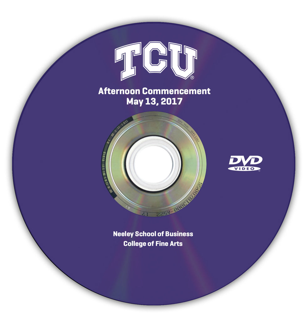 2017 Spring Graduation DVD -- Afternoon Ceremony