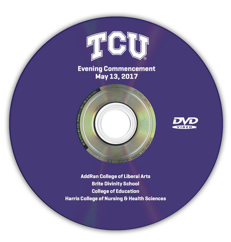 2017 Spring Graduation DVD -- Evening Ceremony