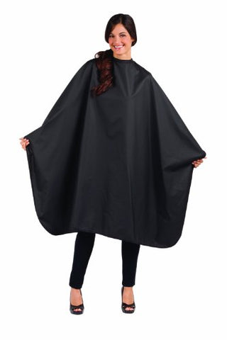 Betty Dain Signature Mirage Chemical-Proof Coloring/Styling Cape, Black