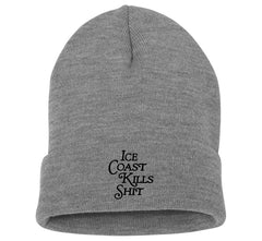 New Yorker Beanie - Grey