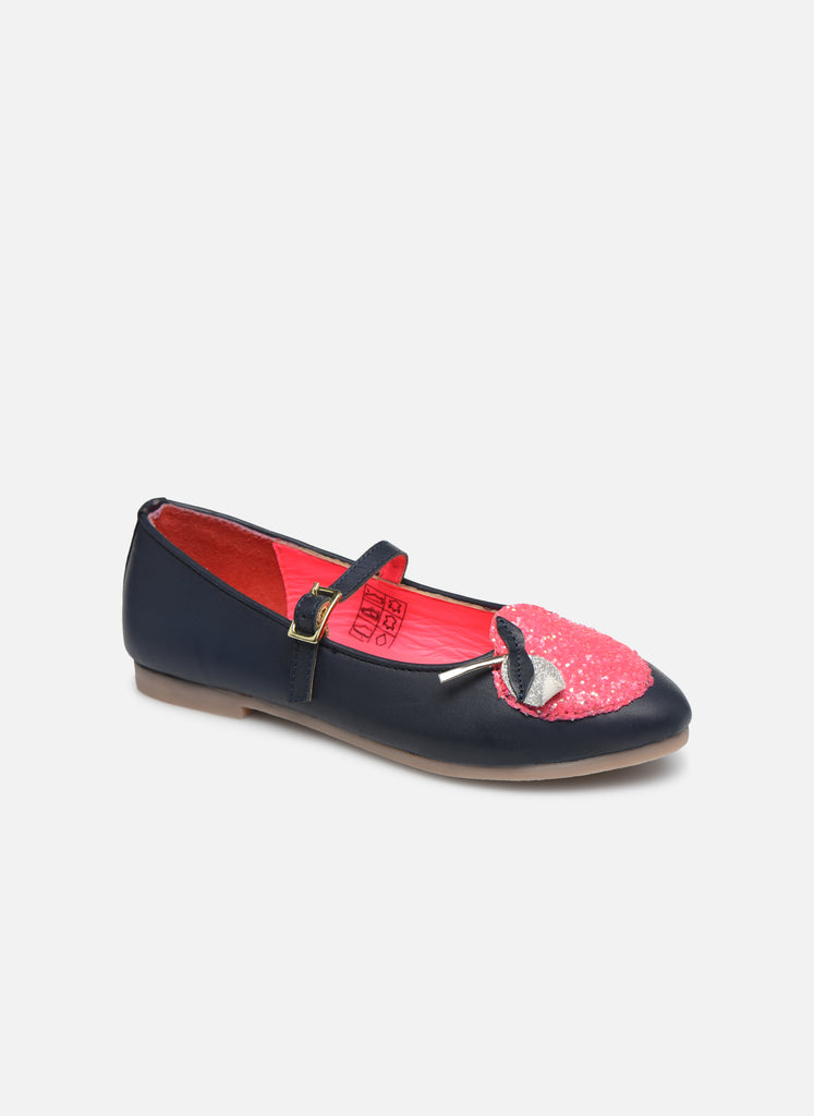 Billieblush Mary Jane Flats with Apple Applique