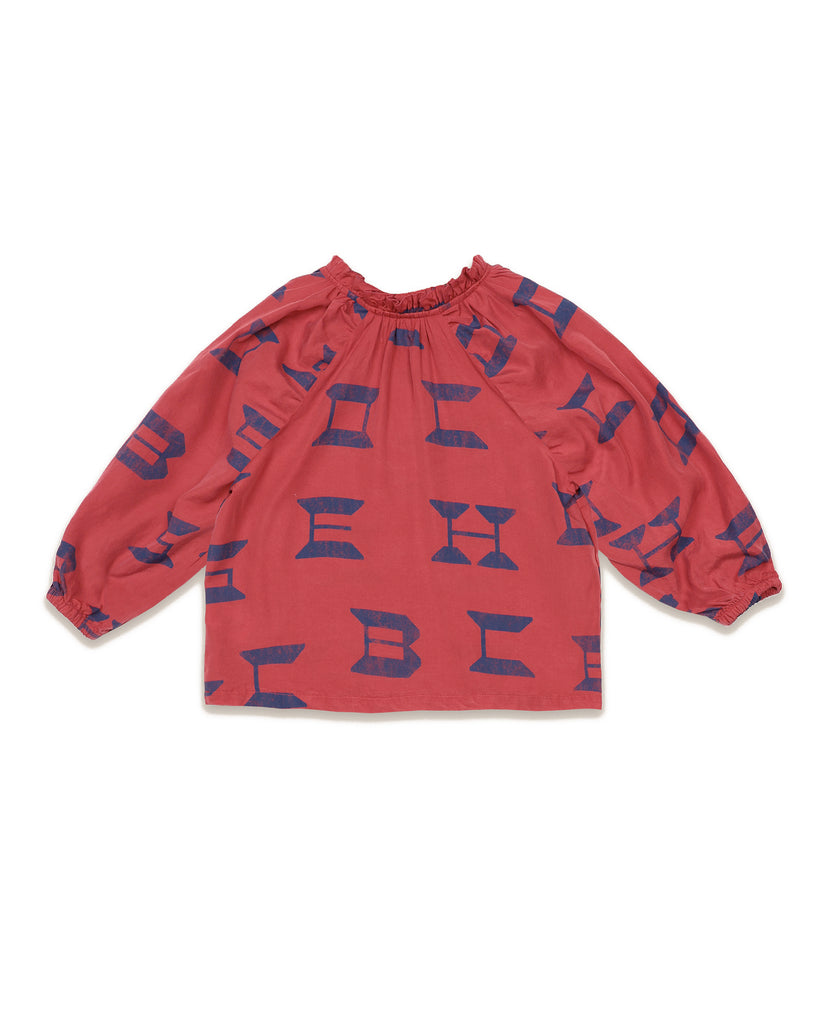 "BOBO CHOSES ""THE CATALOGUE OF MARVELLOUS  TRADES""  Bobo Choses All Over Blouse"