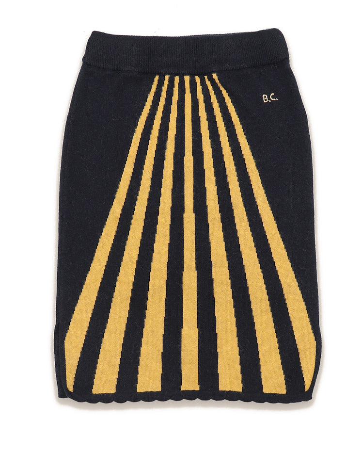 "BOBO CHOSES ""THE CATALOGUE OF MARVELLOUS  TRADES""  Stripes Knitted Skirt"