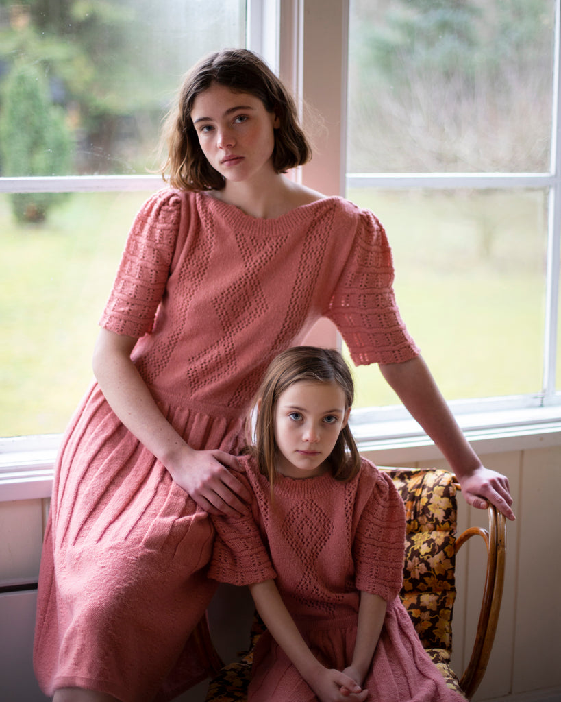 FISH&KIDS Knit Pink Dress