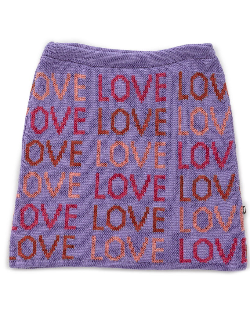 OEUF Alpaca Skirt in Love Lilac