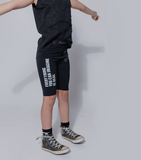 NUNUNU Imagination Riding Shorts in Black