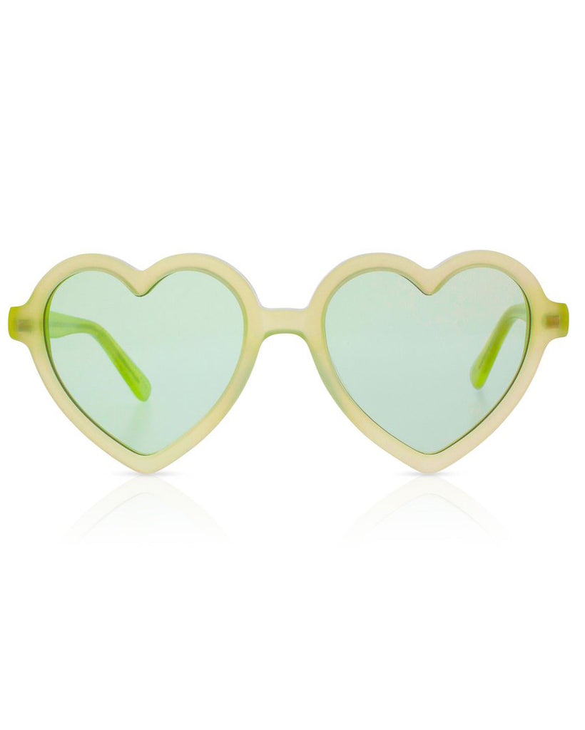 SONS + DAUGHTERS Lola Sunglasses in Margarita Green