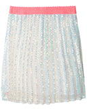 BILLIEBLUSH Sequin Pleated Skirt