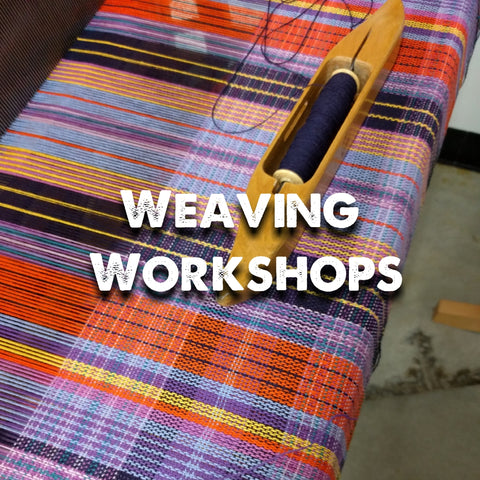 Weaving workshops
