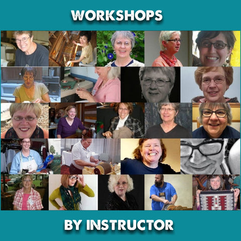 Workshops by Instructor ALL