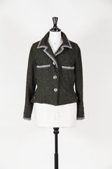 Embellished tweed jacket by Voyage at Isabella's Wardrobe