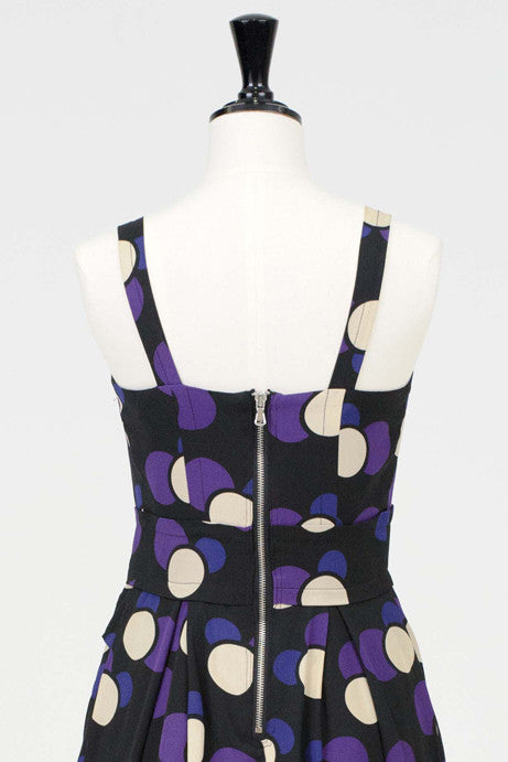 Spotted silk tank dress by Marc by Marc Jacobs