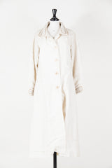 Maxi coat with collar and cuff detail by Voyage at Isabella's Wardrobe