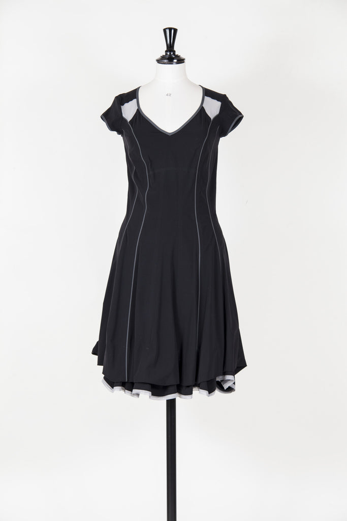 Gathered hem dress by Marithe et Francois Girbaud