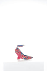Floral print wedge by Tsumori Chisato at Isabella's Wardrobe