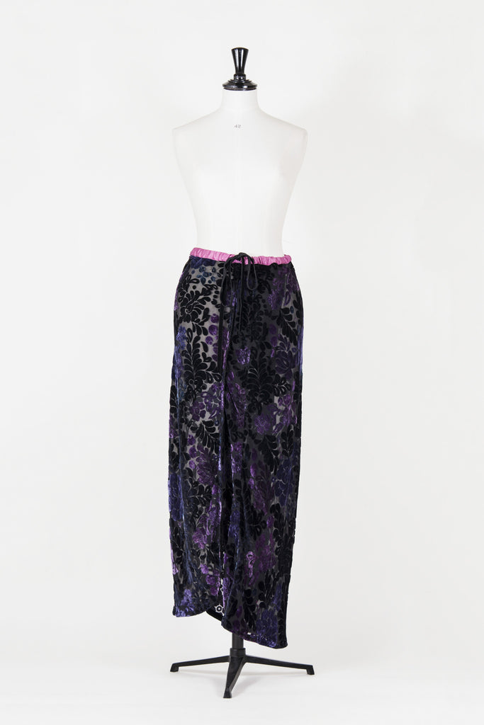 Devore maxi skirt by Voyage