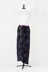 Devore maxi skirt by Voyage at Isabella's Wardrobe