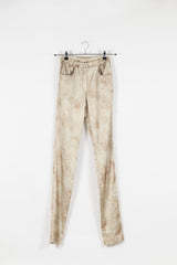Distressed-effect slim fit trousers by Voyage at Isabella's Wardrobe