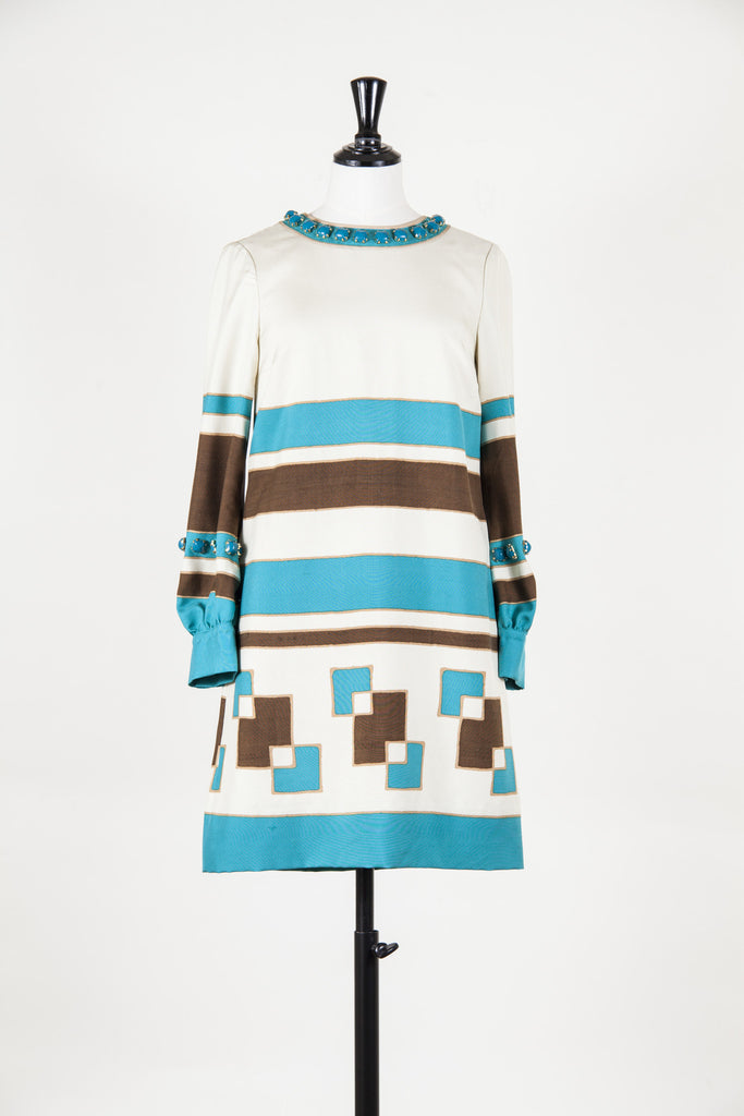 Embellished tunic dress by Moschino Cheap and Chic