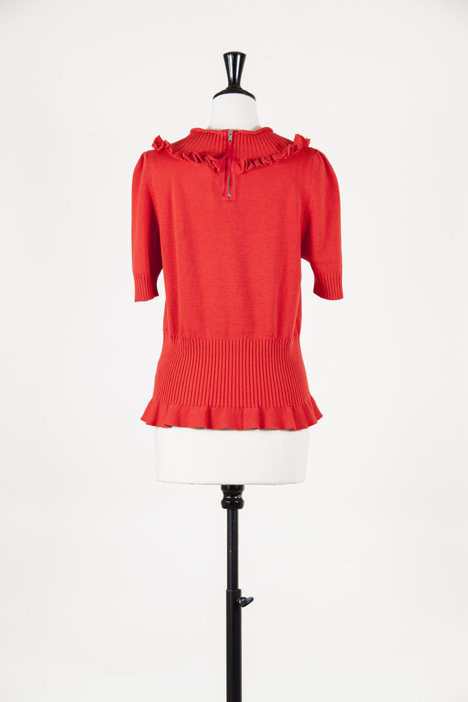 Ines cotton-knit sweater by Marc by Marc Jacobs