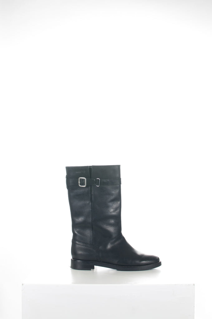 Toscy calf leather boots by See by Chloe