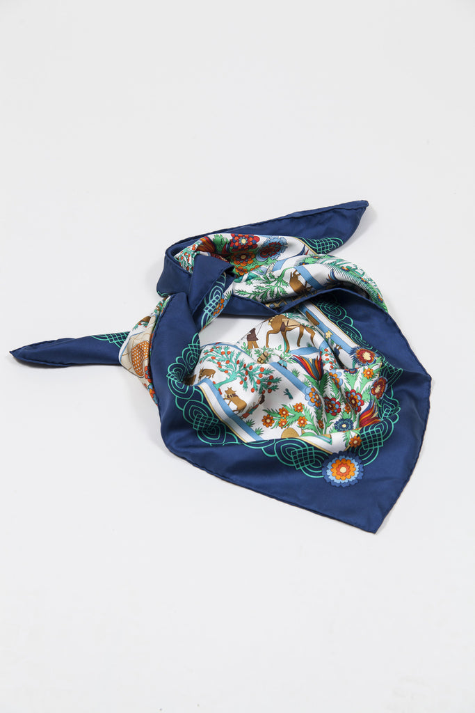 Decoupages scarf by Hermes