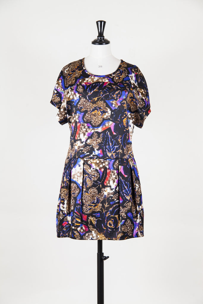 Multicoloured tunic dress by Mulberry