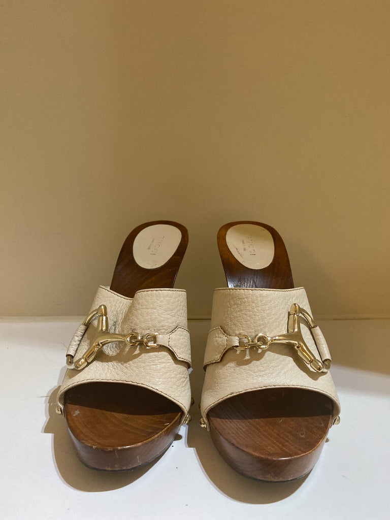 Snaffle Bit Clogs by Gucci