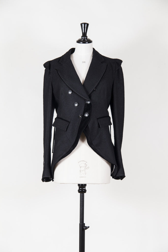 Velvet trim jacket by HIGH