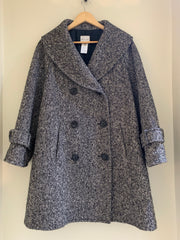 Monochrome Coat by Celine at Isabella's Wardrobe