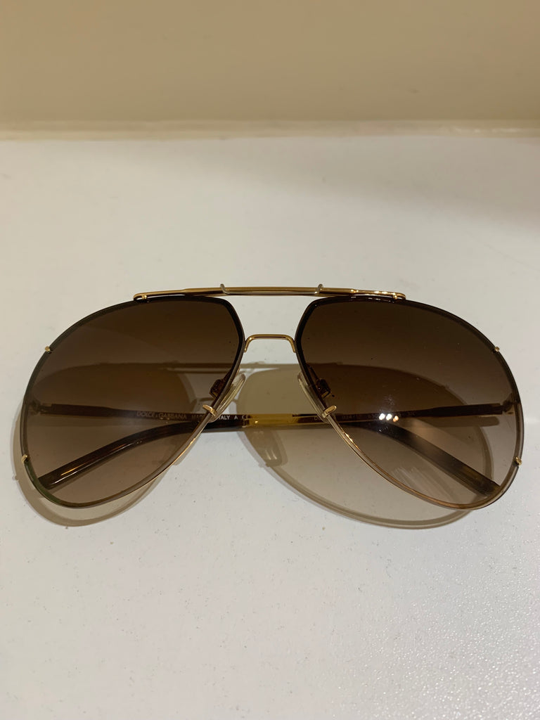 Aviator Sunglasses by Dolce & Gabbana
