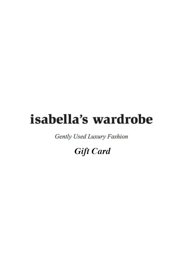 Gift Card by Isabella's Wardrobe