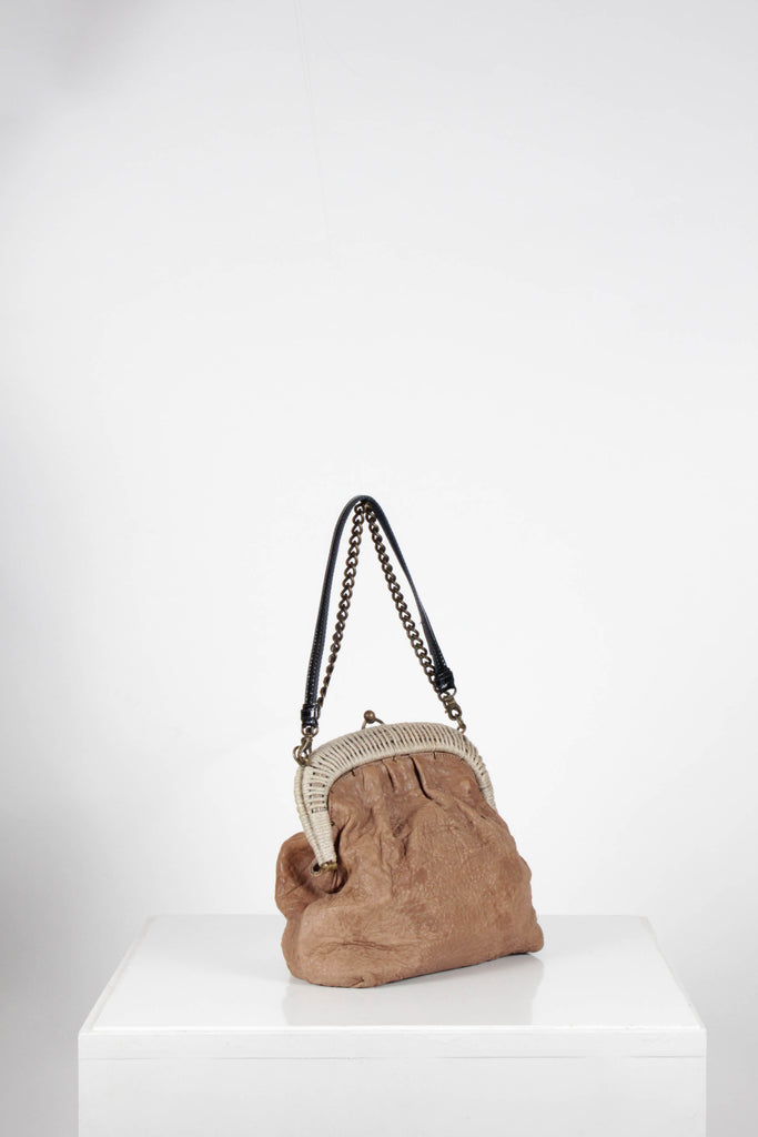 Textured Framed Bag by Marni