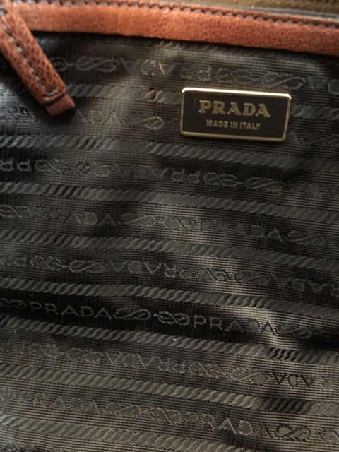 Double Handled Shoulder Bag by Prada
