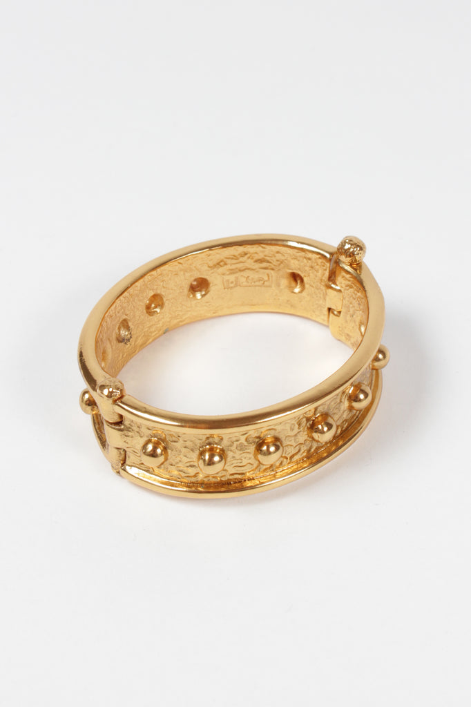 YSL Vintage Gold Bangle by Yves Saint Laurent