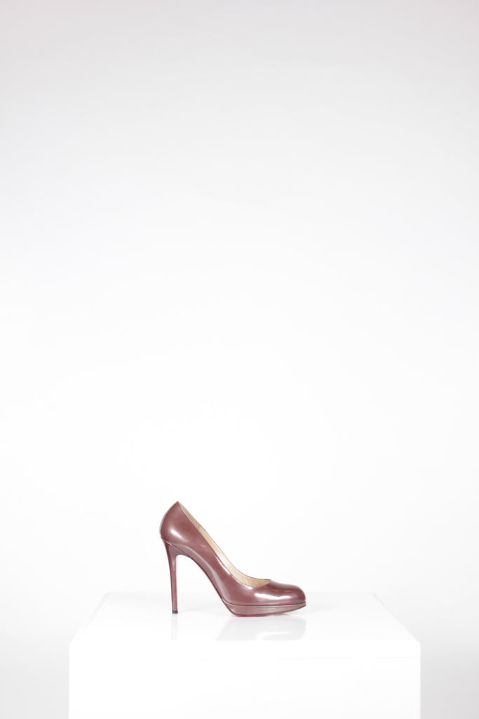 Simple 120 Patent Pump by Louboutin
