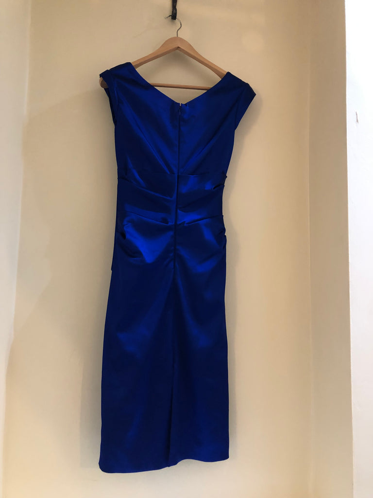 Electric Blue Sheath Dress by Talbot Runhof