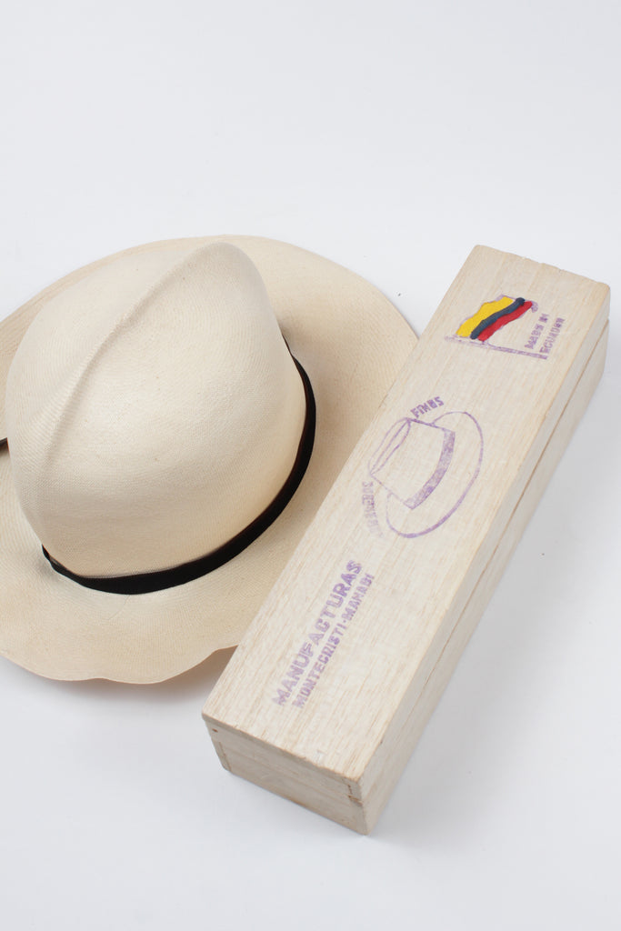 Handcrafted Panama Hat by Borsalino