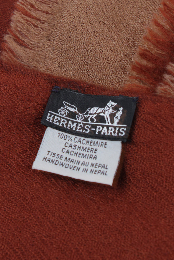 Reversible Cashmere Shawl by Hermes