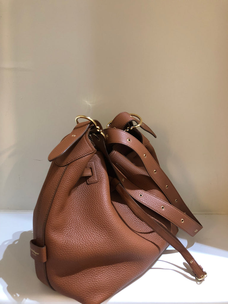 Carla Bucket Bag by Salvatore Ferragamo