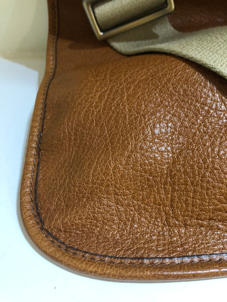 Vintage Messenger Bag by Bally