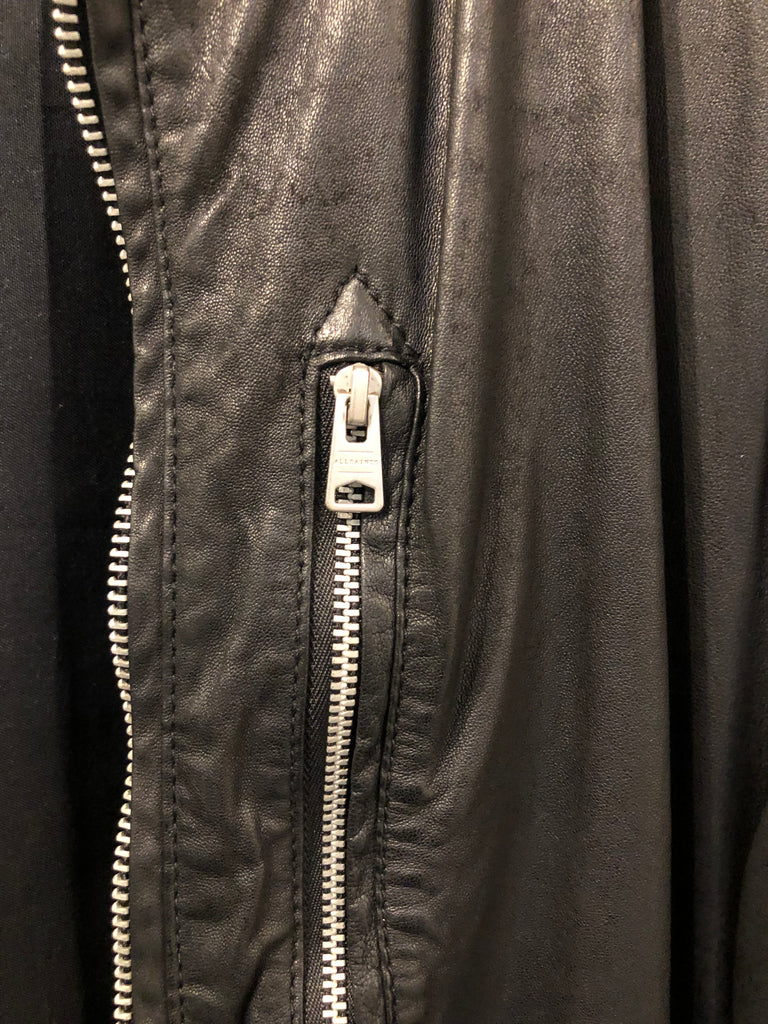 Gents Kino Leather Bomber Jacket by All Saints