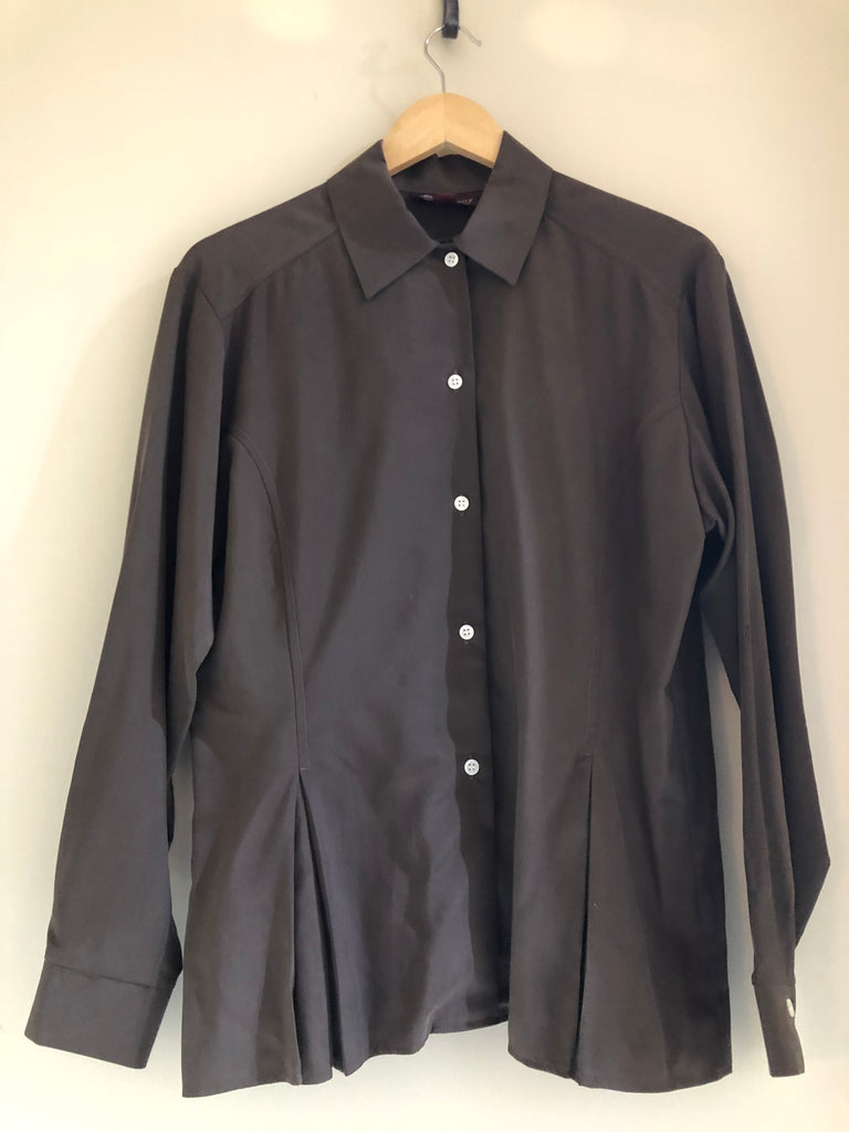 Collared Silk Shirt by Mulberry
