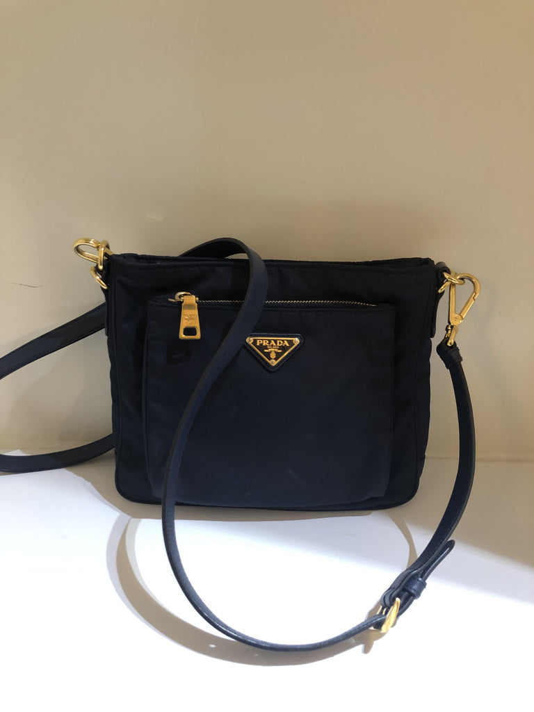 Tessuto Cross Body Bag by Prada